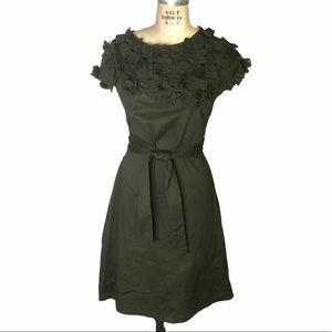 Shabby Apple dark green dress